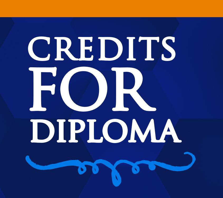CREDITS FOR DIPLOMA